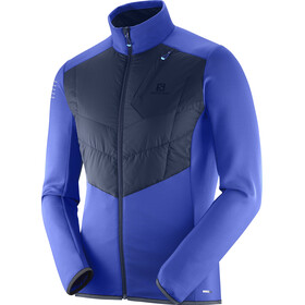 Salomon Pulse Warm Veste Homme, surf the web/night sky